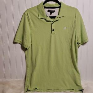 Banana Republic Men's Polo Style Lime Green Top